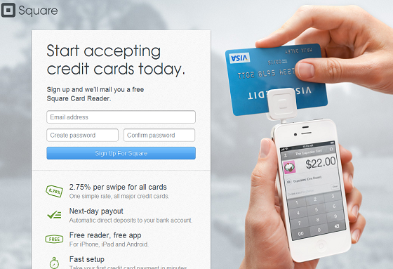 Square Mobile Payments for Entrepreneurs