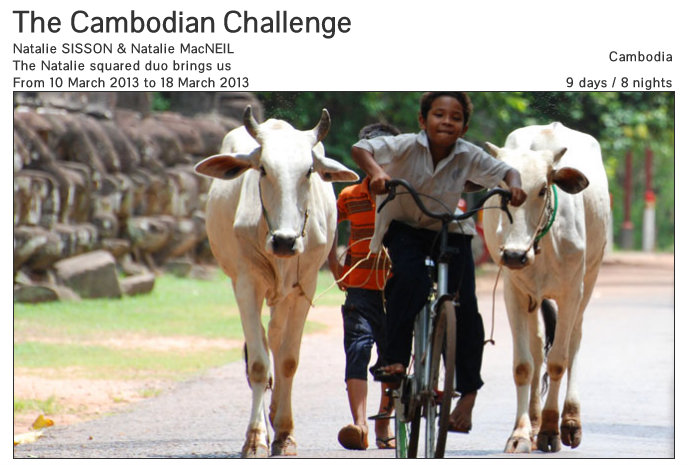 Cambodian Challenge with Soul Journeys Travel