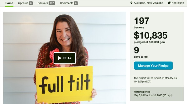 How to successfully run a kickstarter campaign