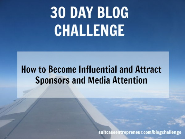 [Day 19] How to Become Influential and Attract Sponsors and Media Attention