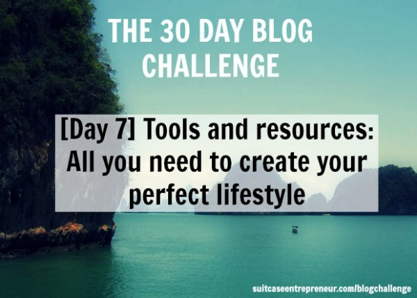 Day 7 of 30 Day Blog Challenge - Tools and Resources