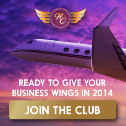High Flyer Club Ad