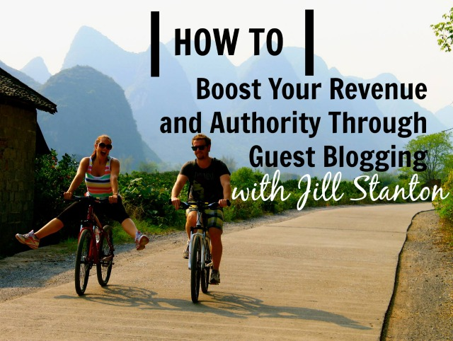 [TSE 68] How to Boost Your Revenue and Authority Through Guest Blogging with Jill Stanton