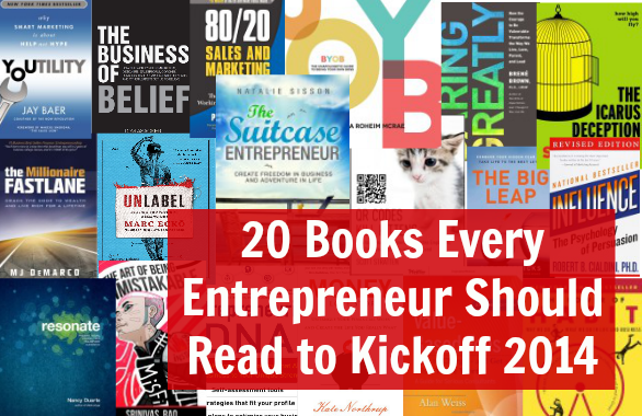 20 of the Best Business Books Every Entrepreneur Should Read in 2014