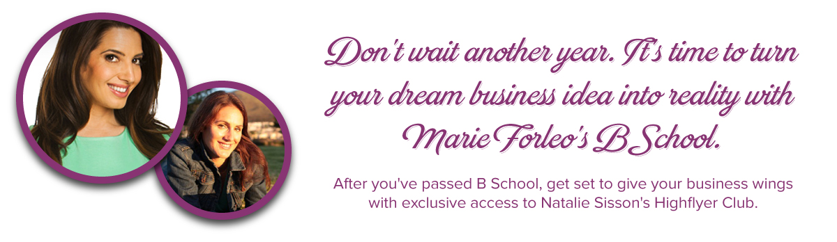 Join BSchool with Natalie Sisson for a BIG BONUS