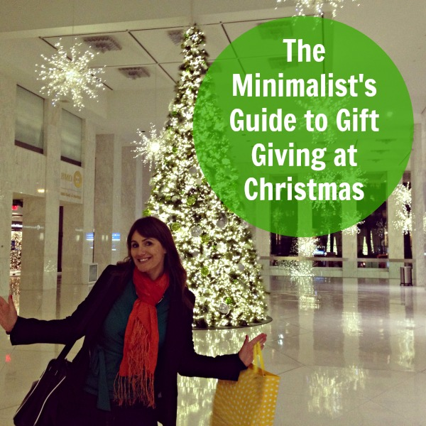 The Minimalist's Guide to Gift Giving at Christmas