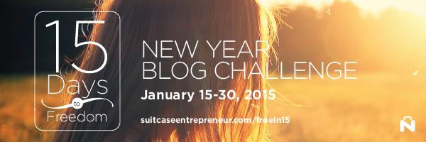 15 Day Blog Challenge