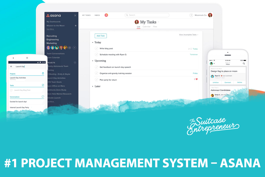 #1 Project Management System Asana
