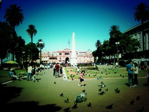 Casa Rosada and Plaza de Mayo