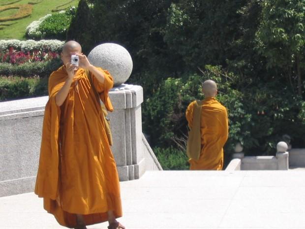 Buddhist Monk in Thailand