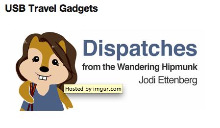 Jodi Ettenberg and her HipMunk status