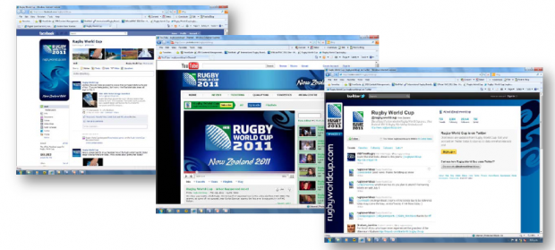 Brand consistency for Rugby World Cup