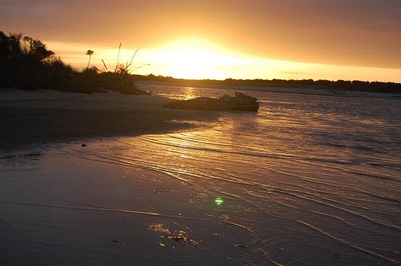 Karamea by sunset
