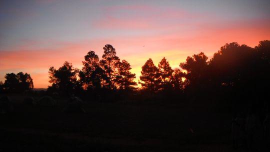 Sunrises are worth savouring