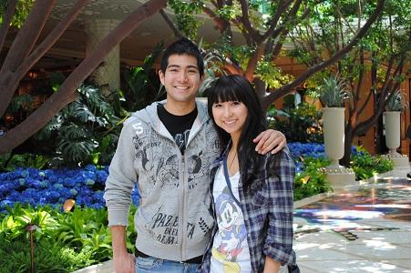 Jun Loazya and girlfriend Kim Ear