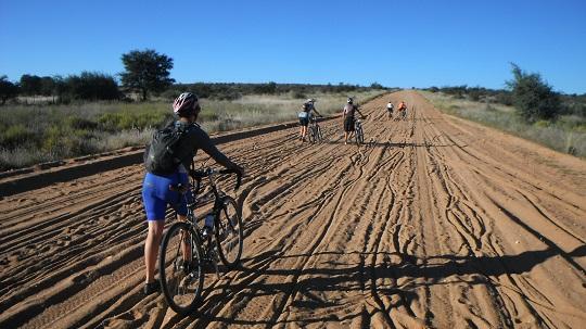 Challenging terrain in Tour d'AFrique