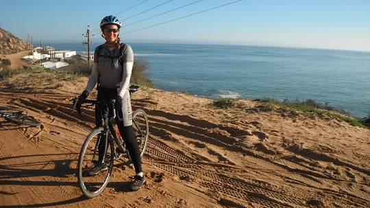 Riding across Africa with Natalie Sisson