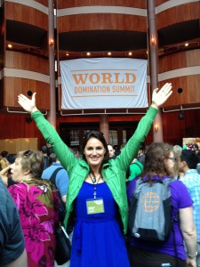 Natalie Sisson is inspired at World Domination Summit