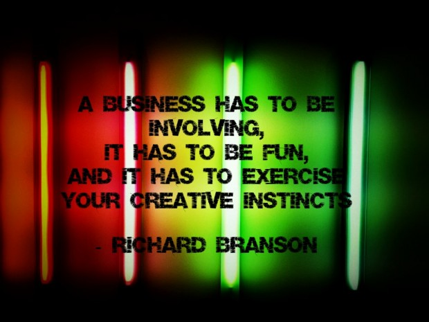 Richard Branson On Having Fun In Business