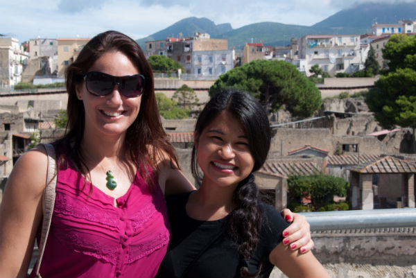 Team Suitcase Entrepreneur Natalie and Cher Hale in Naples