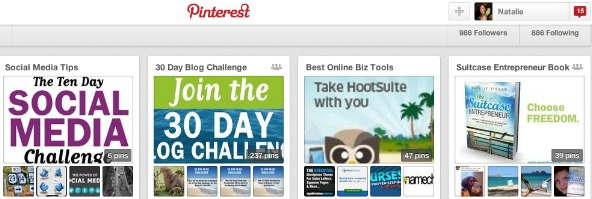 Pinterest  is a powerful tool for entrepreneurs