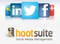 Hootsuite social media dashboard