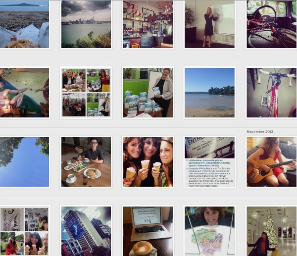 Instagram moments of Natalie Sisson in 2013