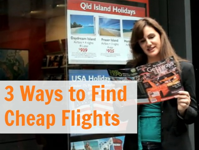 3 Ways to Find Cheap Flights