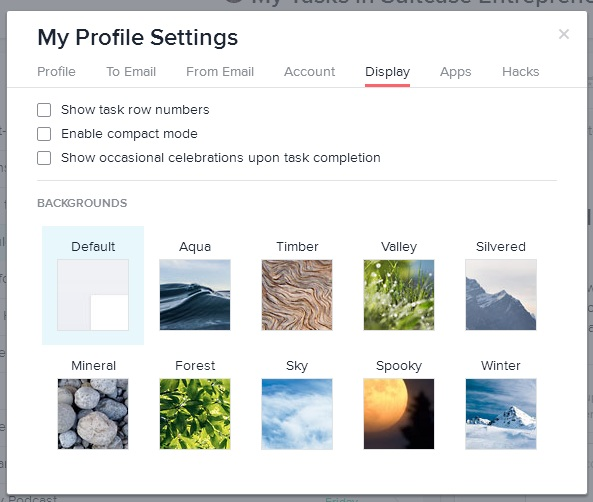 ProfileSettings