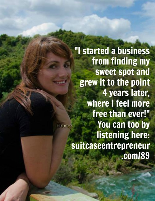 Celebrating 4 years in business thanks to finding my sweet spot!