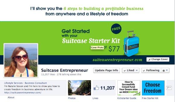 Suitcase Entrepreneur Facebook Page