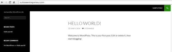 New WordPress site replacing TSE