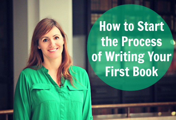 how do you start writing a book