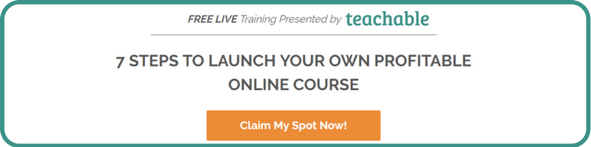 Online Course Launch Teachable Live Training