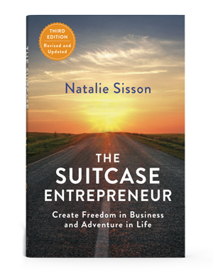 the suitcase entrepreneur book cover