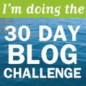 Doing blog challenge